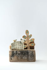 Ceramic and Driftwood  'Moorland'