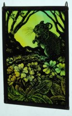 'Stirrings of Spring' Stained Glass Panel