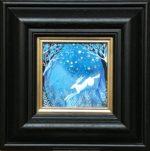 Acrylic on Board Cobalt Sky