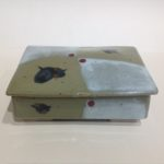 Ceramic Rectangular Box in Stoneware