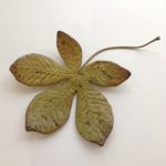 Small Horse Chestnut Leaf