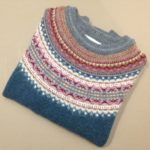 Lambswool Eribe Alpine Sweater in Lugano