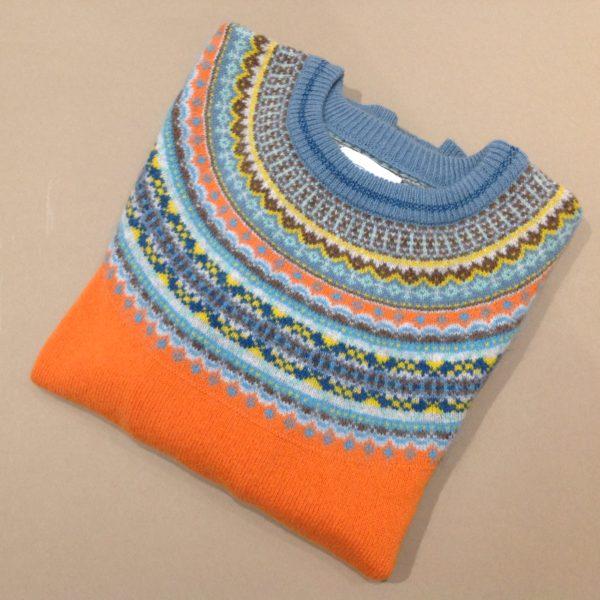 Lambswool Eribe Alpine Sweater in Turmeric
