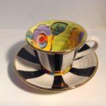Ceramic Tea Cup & Saucer