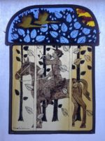 Stained Glass Panel  'Herald'