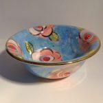 Blue Floral Cereal Bowl