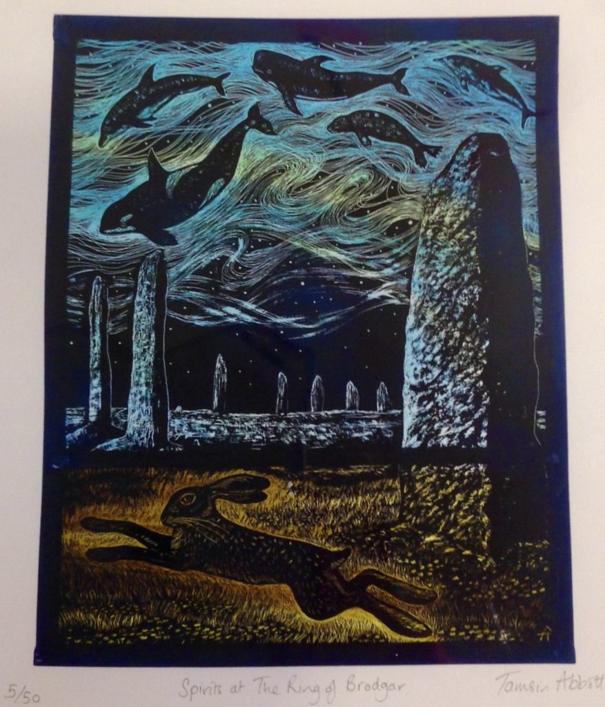 'Spirits at the Ring of Brodgar'
