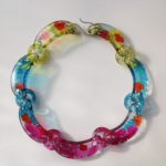 Perspex Multi Coloured Necklace