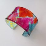 Perspex Cuff Multi Coloured
