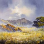 Original painting 'Mountain Cottage'