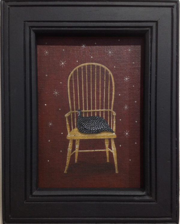 Original Acrylic painting 'Sitting'