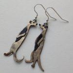 Brass & Bronze Earrings Meercats