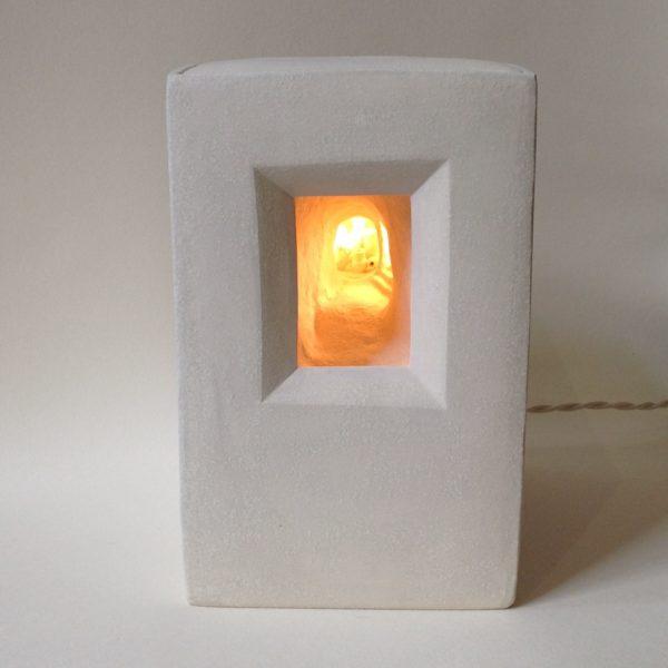 Ceramic Lightbox Seven Jars