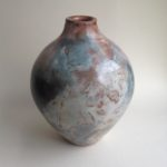 Burnished Pit Fired Bottle