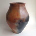 Burnished Pit Fired Vase