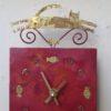 Clock Cat and Fish
