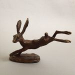 Bronze Leaping Hare
