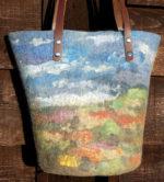 Nuno Felted Landscape Bag