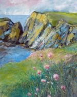 Print.  'Crozon Peninsular: Thrift'