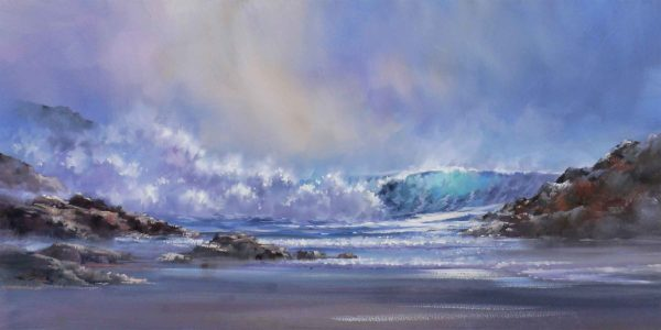 Original Acrylic Stormy Skies