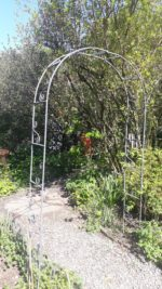 Forged Iron Decorative Arch