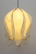 Closed Pendant Shade in Cream