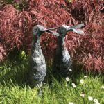 Forged and galvanised Runner Ducks