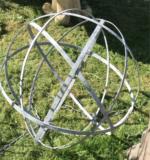 Forged Iron Garden Globe Extra Large