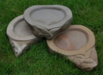 Hand Carved Bird Baths