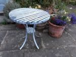 Forged and galvanised Garden Table