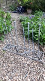 Forged Iron Wellie Rack