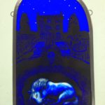 Stained Glass Panel 'Awakening'