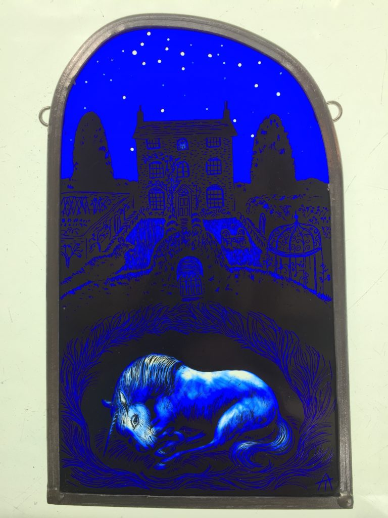 Stained Glass Panel  'Awakening'