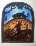 Stained Glass Panel  'The Peaceable Kingdom'