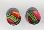 Acrylic Block Stud Earrings