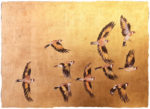 "Premium Print ""A Charm of Goldfinches"""