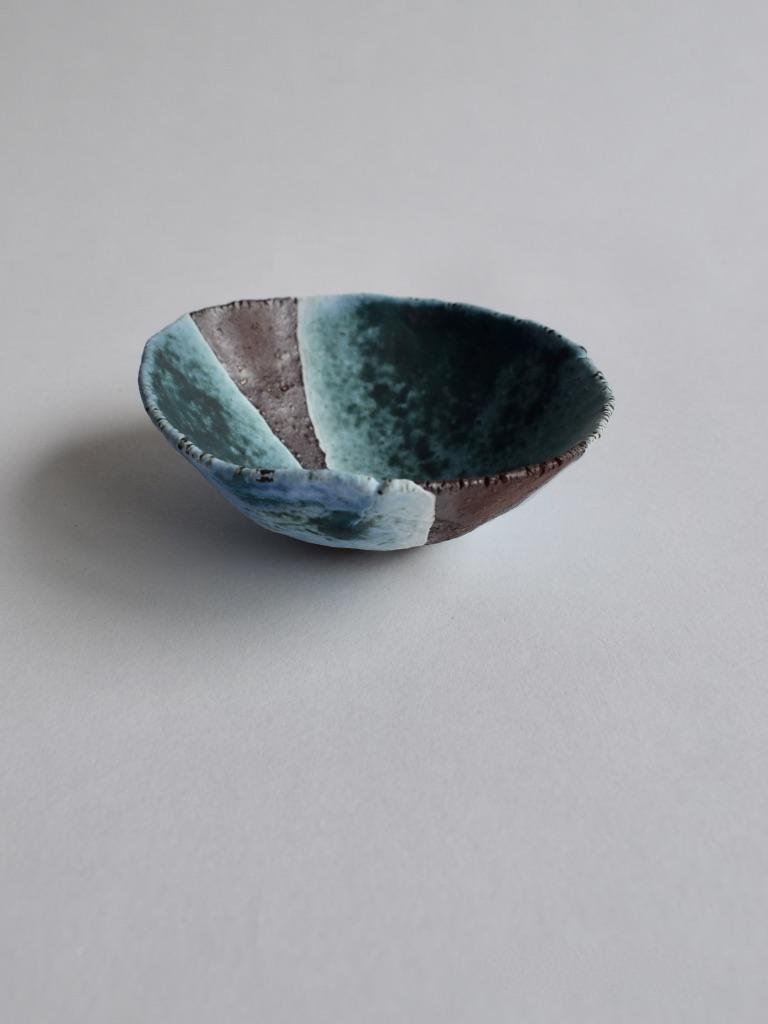 Red Clay Medium Seashell Bowl