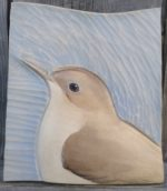 Relief Wood Carving Nightingale
