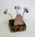 Copper Bees and Skep
