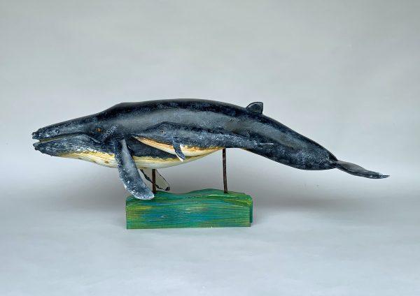 'Humpback Whale and Calf'