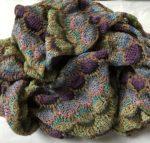 Sand Shells cashmere & silk scarf