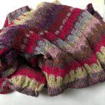Harris Heather silk scarf