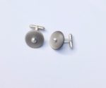 Cellulose Acetate Button Cufflinks