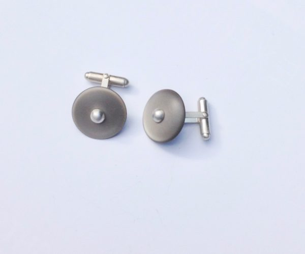 Cellulose Acetate Button Cufflinks