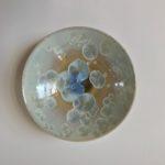 Crystalline Glazed Medium Dish