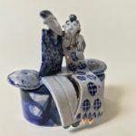 Ceramic Sculpture You Do Make Me Laugh