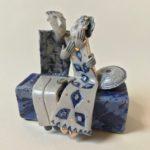 Ceramic Sculpture Happy Couple