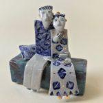 Ceramic Sculpture Sweethearts