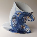 Cappuccino Cup & Saucer Vase