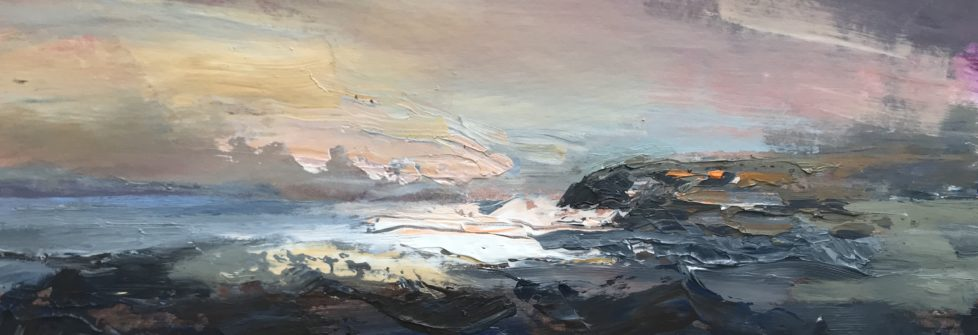 'Wild Ceredigion North Acrylic on Board